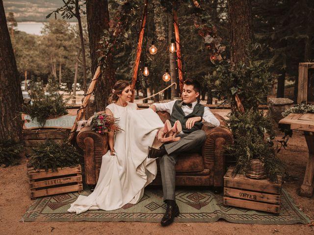 La boda de Andrés y Itziar en Rascafria, Madrid 147