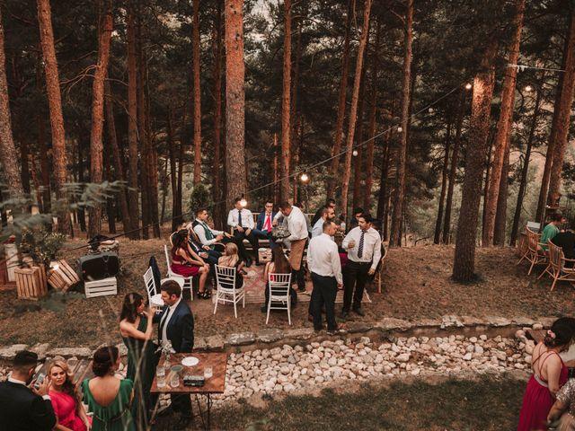 La boda de Andrés y Itziar en Rascafria, Madrid 155