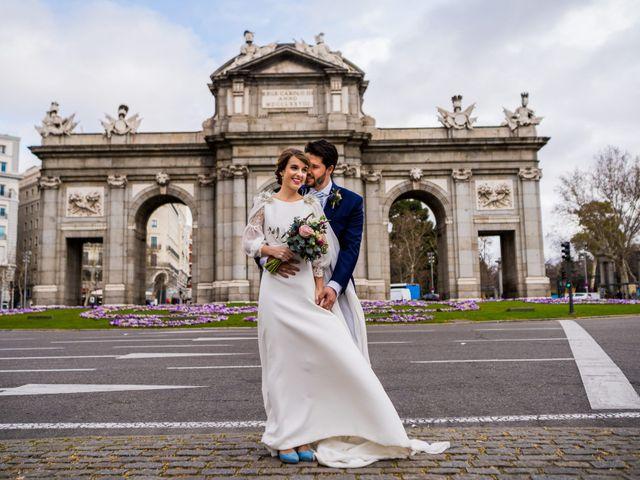 La boda de Nacho y Susana en Madrid, Madrid 1