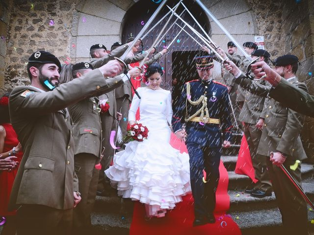 La boda de Natalia y Cristian en Plasencia, Cáceres 39