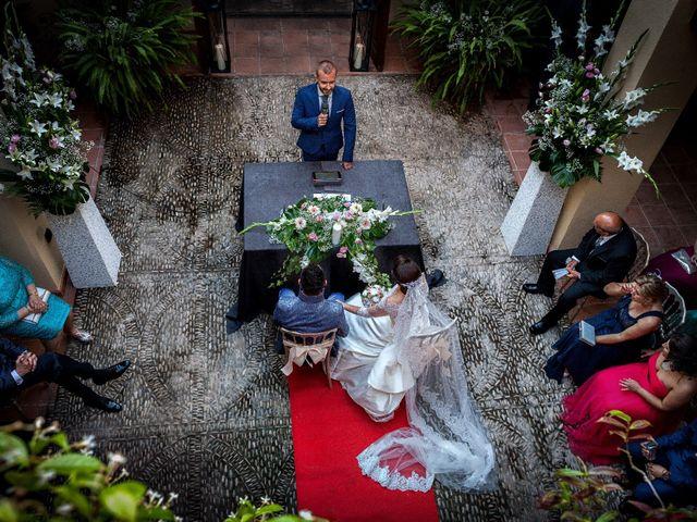 La boda de Ángel y Esther en Burriana, Castellón 19