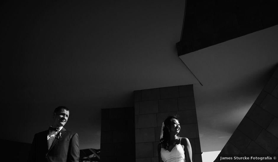La boda de Nate y Linda en Elciego, Álava