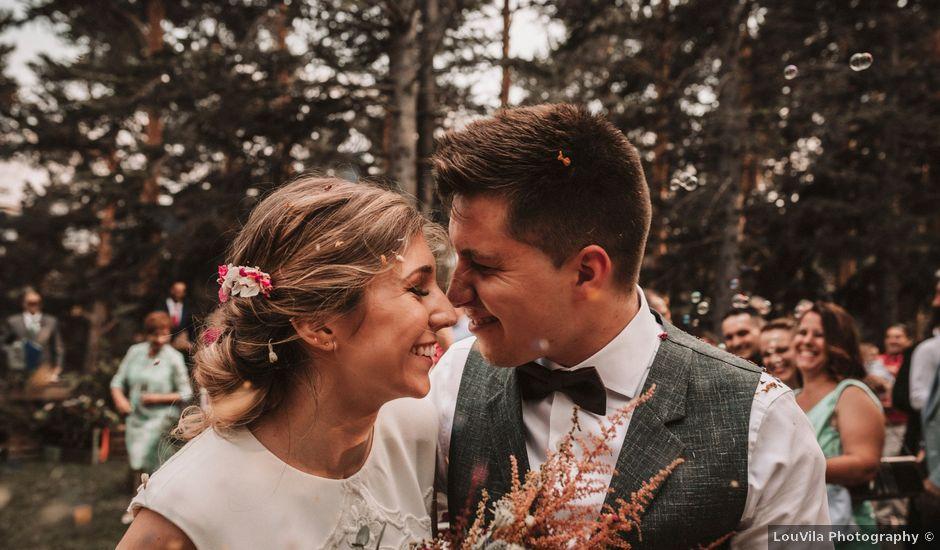 La boda de Andrés y Itziar en Rascafria, Madrid