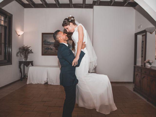 La boda de Elisa y David