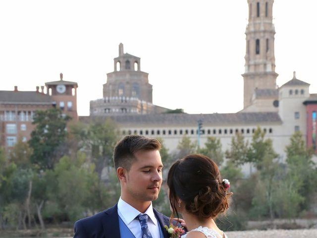 La boda de Guillermo y Cristina en Zaragoza, Zaragoza 16