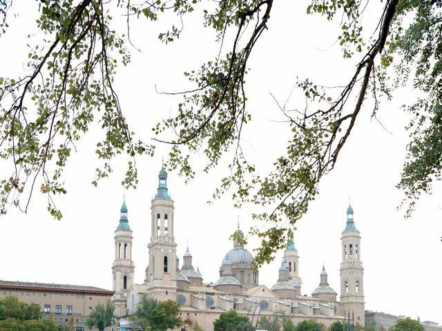 La boda de Guillermo y Cristina en Zaragoza, Zaragoza 19