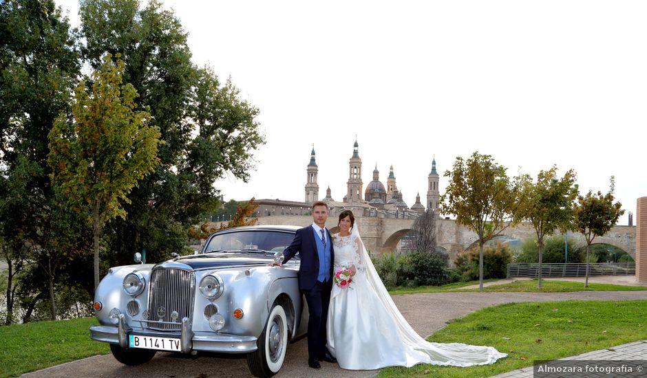 La boda de Guillermo y Cristina en Zaragoza, Zaragoza