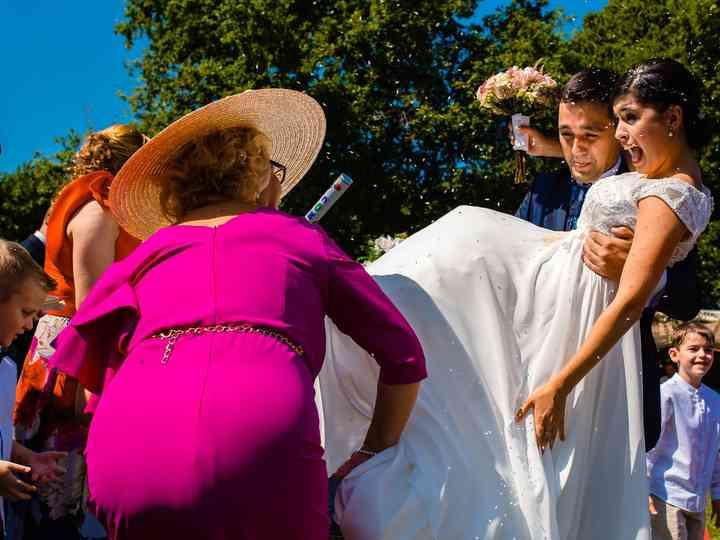 La boda de MªElena y Lalo