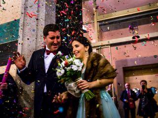 La boda de Elena y Abel