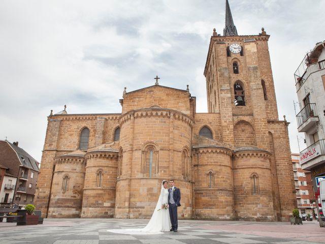 La boda de Luis y Tania en Benavente, Zamora 30
