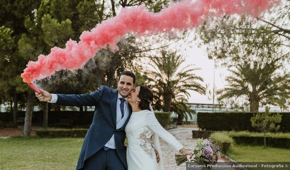 La boda de Pedro y Ana en El Cerro De Andevalo, Huelva