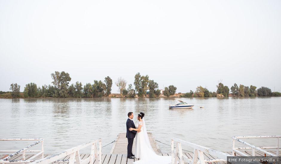 La boda de Andres y Jeniffer en Hinojos, Huelva