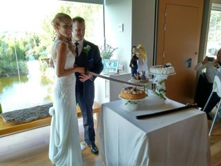 La boda de Yamina y Txema