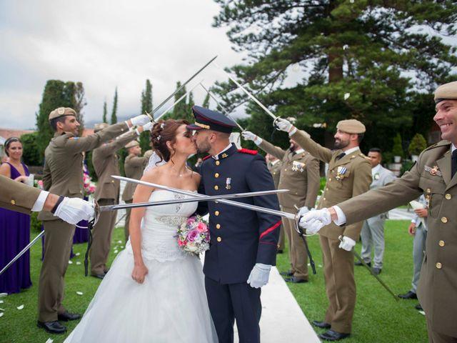 La boda de Felix y Azahara en La Orotava, Santa Cruz de Tenerife 1