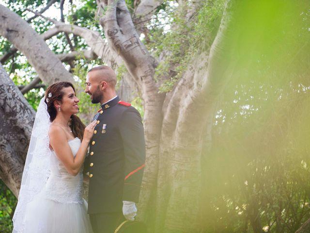 La boda de Felix y Azahara en La Orotava, Santa Cruz de Tenerife 10