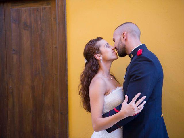La boda de Felix y Azahara en La Orotava, Santa Cruz de Tenerife 12