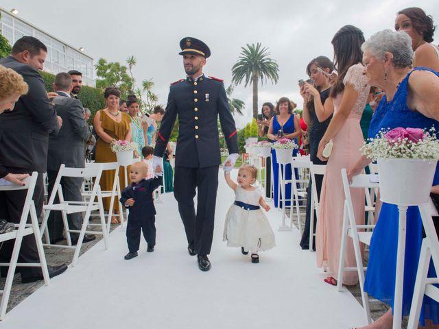 La boda de Felix y Azahara en La Orotava, Santa Cruz de Tenerife 32