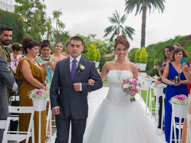 La boda de Felix y Azahara en La Orotava, Santa Cruz de Tenerife 34