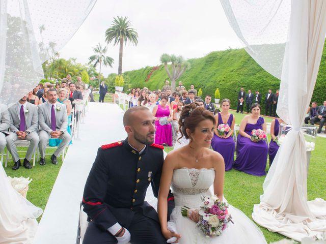 La boda de Felix y Azahara en La Orotava, Santa Cruz de Tenerife 35