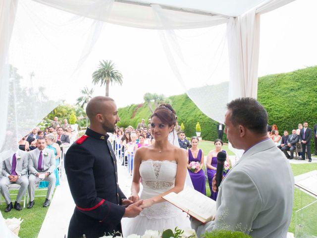 La boda de Felix y Azahara en La Orotava, Santa Cruz de Tenerife 37