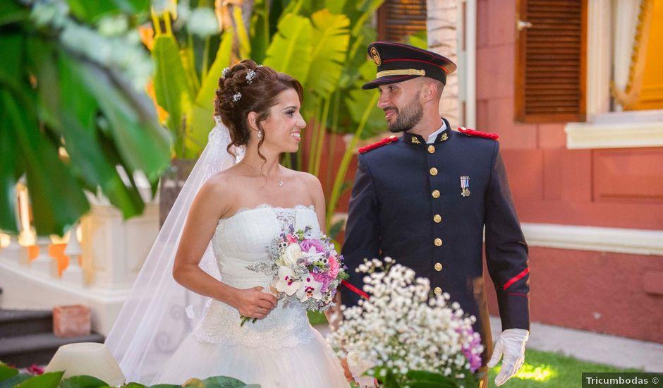 La boda de Felix y Azahara en La Orotava, Santa Cruz de Tenerife