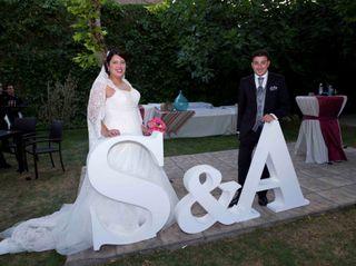 La boda de Alberto y Sandra