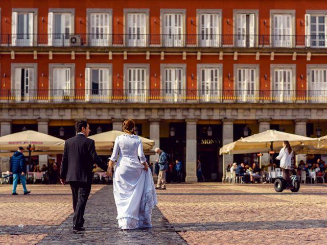 La boda de Aritz y Zuriñe en Aranjuez, Madrid 4