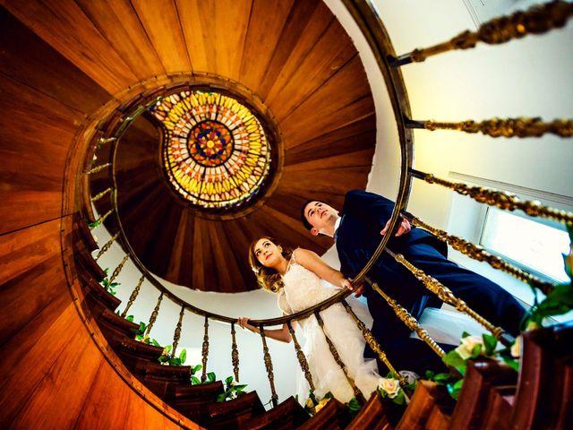 La boda de Aritz y Zuriñe en Aranjuez, Madrid 2