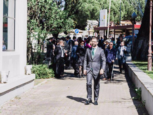 La boda de Alberto y Maria en San Sebastian De Los Reyes, Madrid 1