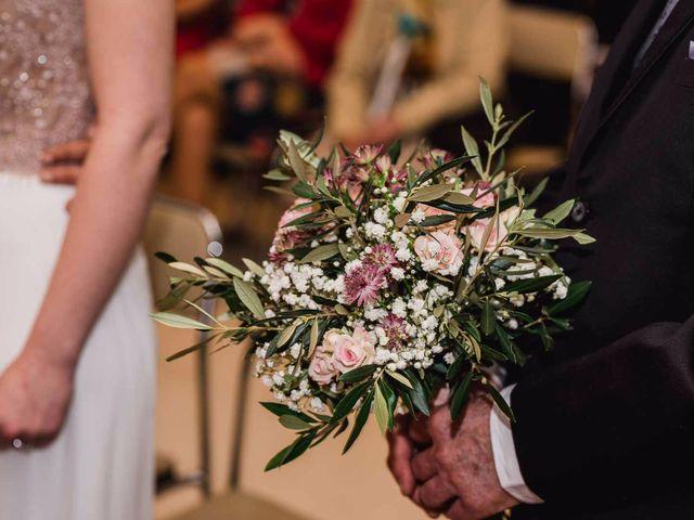 La boda de Alberto y Maria en San Sebastian De Los Reyes, Madrid 10