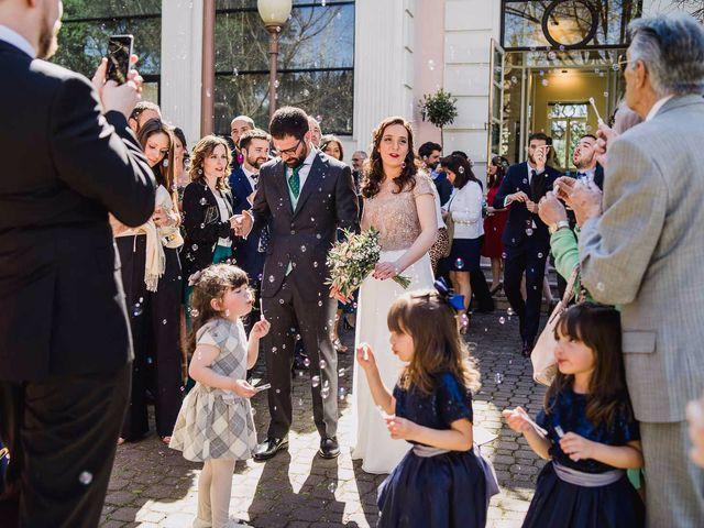La boda de Alberto y Maria en San Sebastian De Los Reyes, Madrid 43