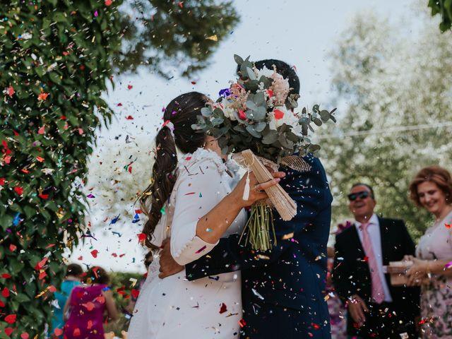 La boda de Moises y Carolina en Membrilla, Ciudad Real 15