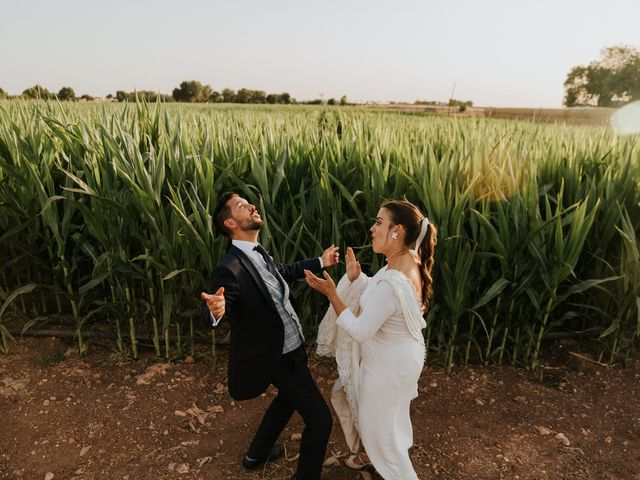 La boda de Moises y Carolina en Membrilla, Ciudad Real 30