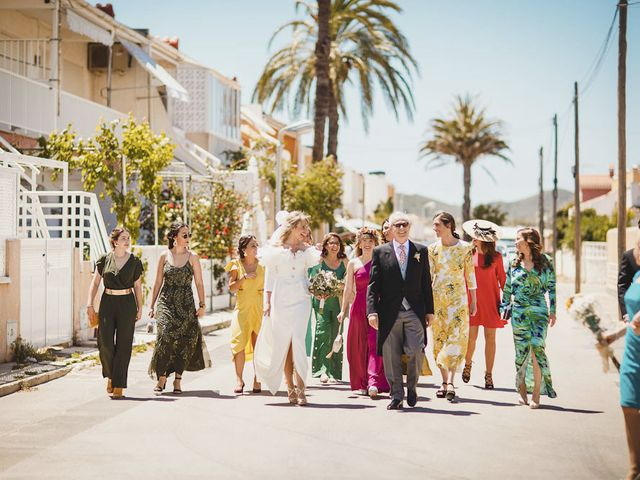 La boda de Juan y Elena en La Manga Del Mar Menor, Murcia 42