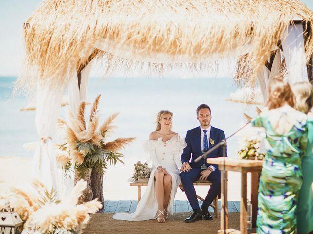La boda de Juan y Elena en La Manga Del Mar Menor, Murcia 56