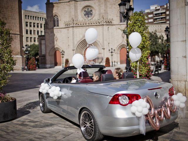 La boda de Vane y Hugo en Castelló/castellón De La Plana, Castellón 10