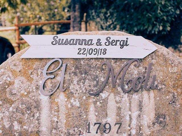 La boda de Sergio y Susanna en Sant Esteve De Llemana, Girona 27