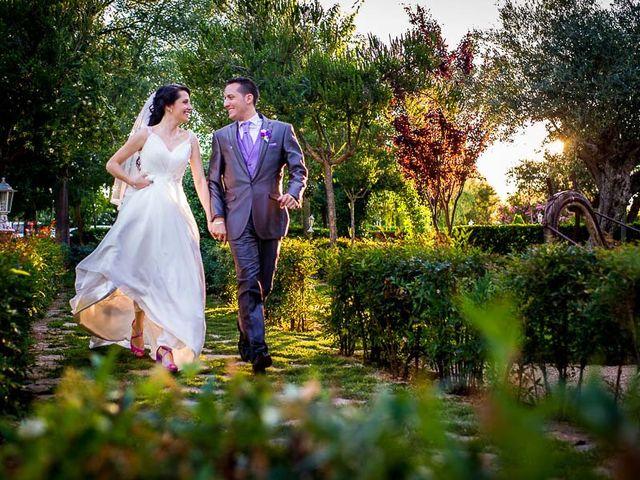 La boda de Victor y Diana en Aldea Del Fresno, Madrid 45