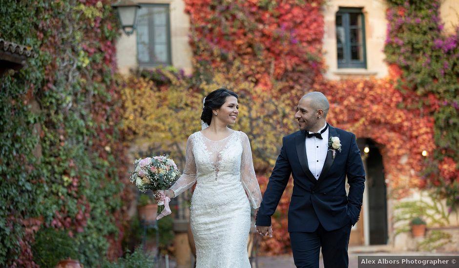 La boda de Alan y Anndrea en Bigues, Barcelona