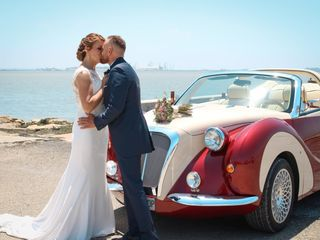 La boda de Cristina y Saul