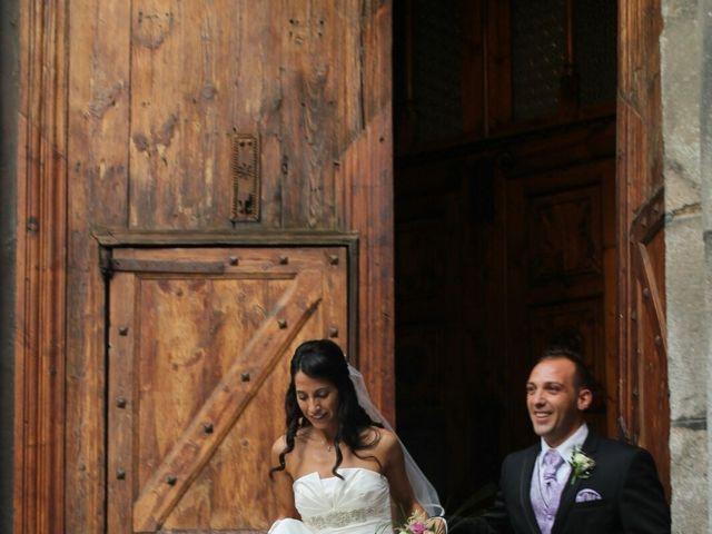 La boda de David y Mireia en La Seu D'urgell, Lleida 1