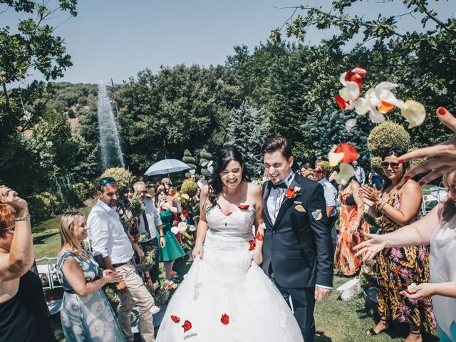 La boda de Kenan y Isabel en Sant Fost De Campsentelles, Barcelona 63