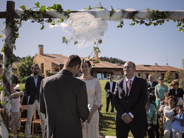 La boda de José María y Sofía en Peñasrrubias De Piron, Segovia 16