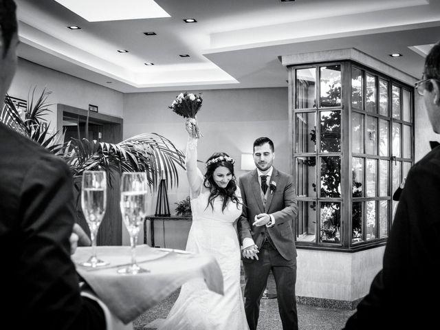 La boda de David y Sagrario en Guadarrama, Madrid 2