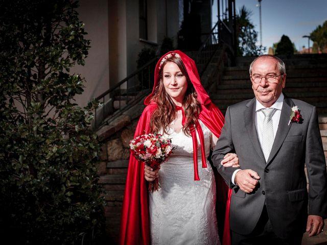 La boda de David y Sagrario en Guadarrama, Madrid 5