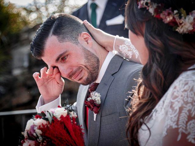 La boda de David y Sagrario en Guadarrama, Madrid 11