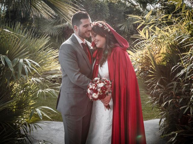 La boda de Sagrario y David