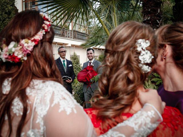 La boda de David y Sagrario en Guadarrama, Madrid 14