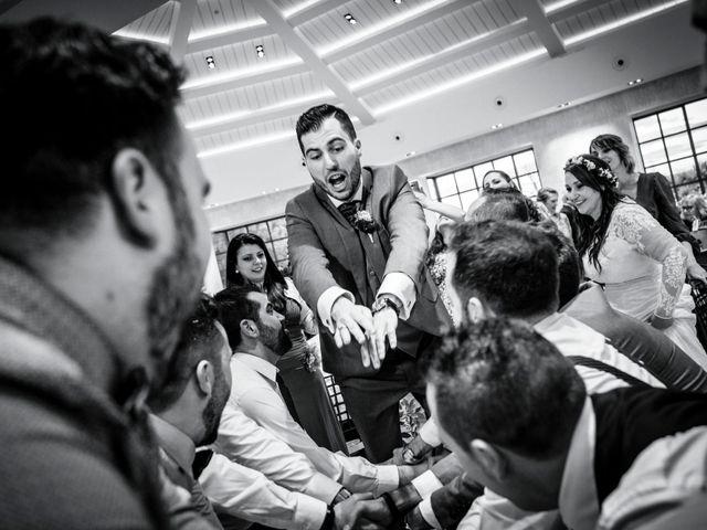 La boda de David y Sagrario en Guadarrama, Madrid 17