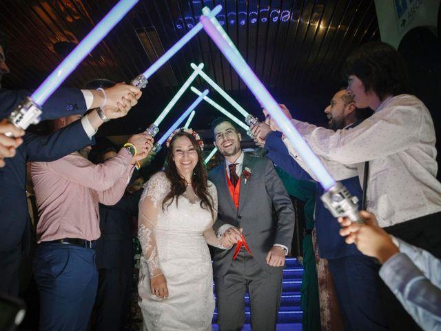 La boda de David y Sagrario en Guadarrama, Madrid 19